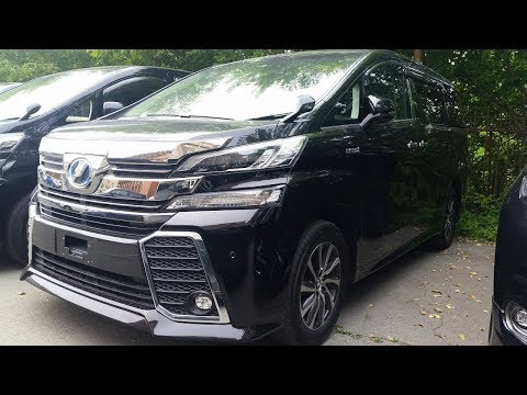 Toyota Vellfire 4WD Hybrid 2015 - Разгон 0 до 100, Расход бензина