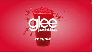 Glee Cast - On My Own (karaoke/instrumental version)