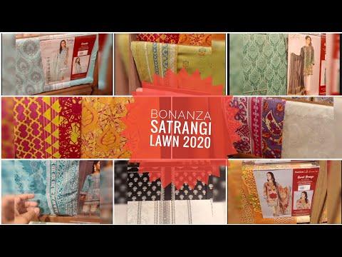 Bonanza Satrangi New Arrivals With Prices #bonanzasatrangi #lawn