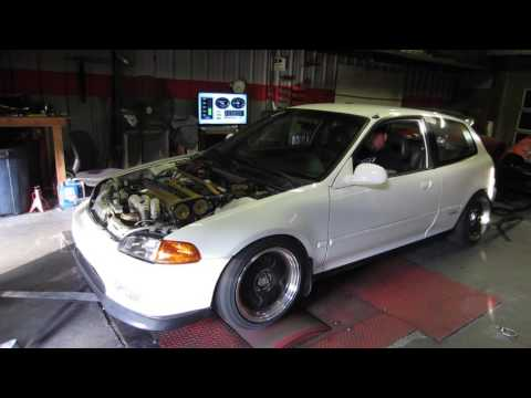 b18 LS turbo civic 400+whp stock sleeves., crower 404.