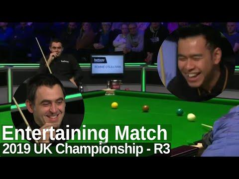 Ronnie O'Sullivan Looks Sharp and Enjoys the Match | 2019 UK Championship - Round 3