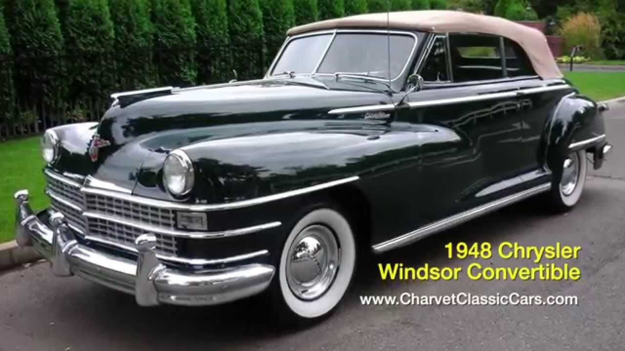 1948 Chrysler Windsor Convertible For Sale Www