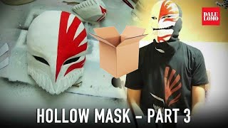 #117.3: Hollow Mask Part 3 - Paint & Lenses | Bleach Ichigo | Cosplay Prop How To DIY