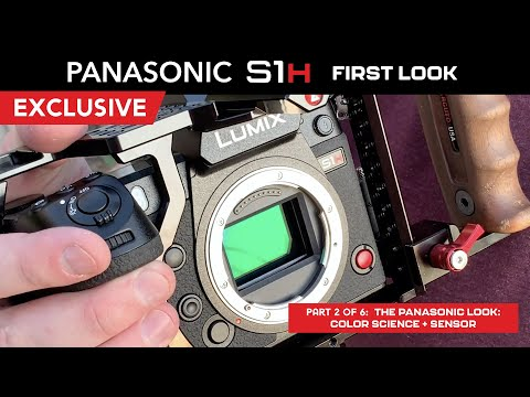 S1H FIRST LOOK Part 2 - The Panasonic Look: Color Science + Sensor