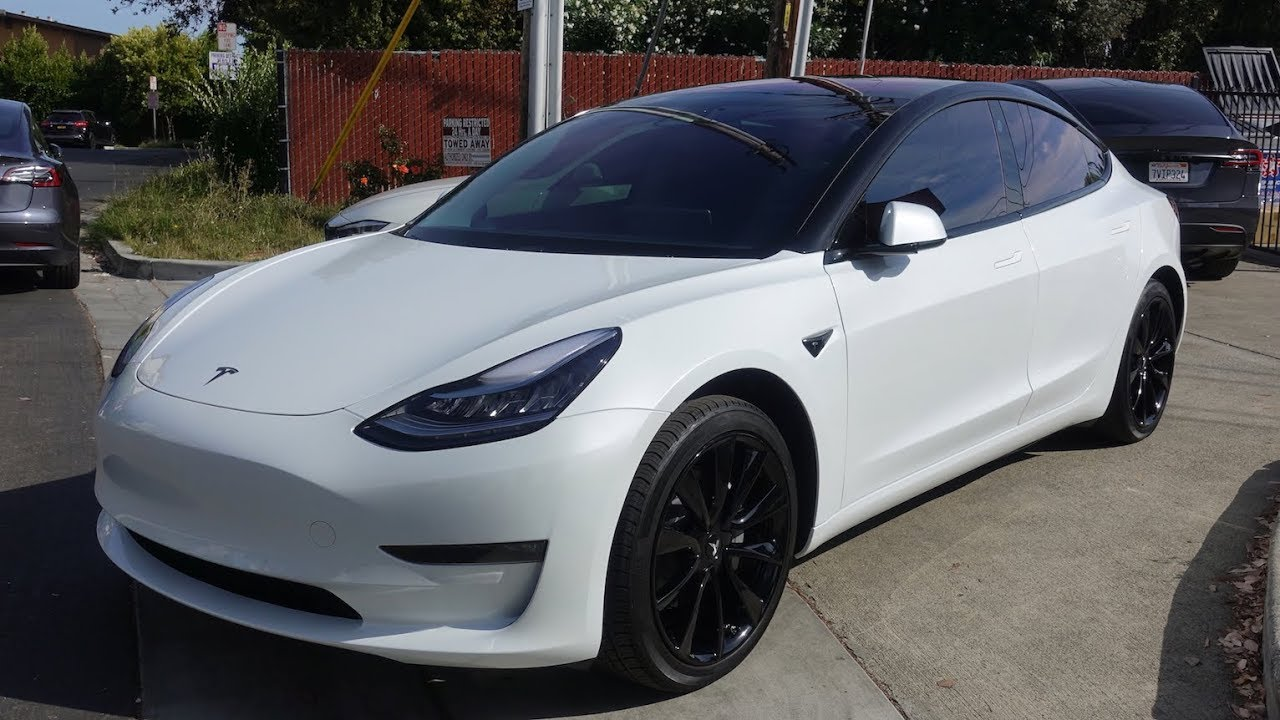 Tesla Model 3 Chrome Delete Oreo Style With Cquartz