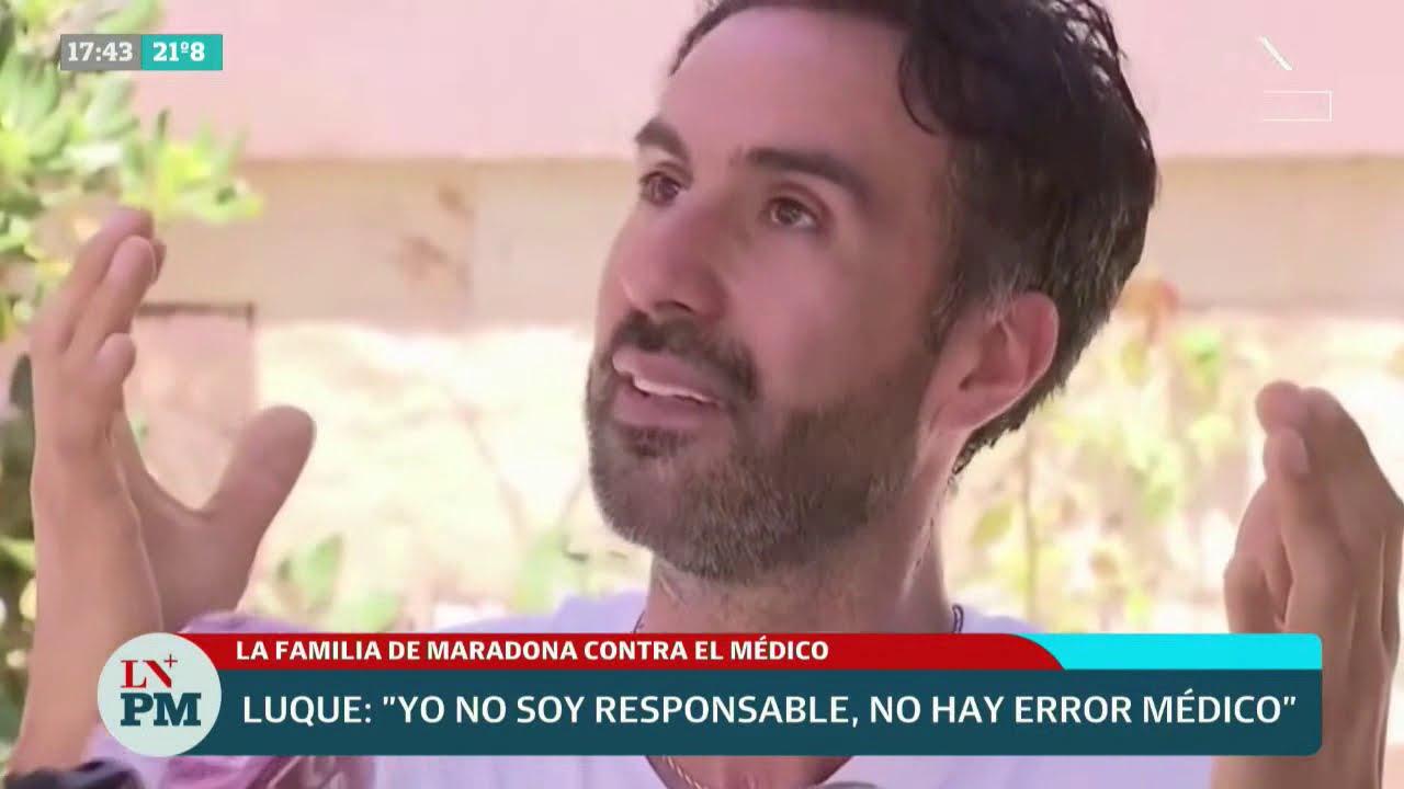 La familia de Diego Maradona, contra Leopoldo Luque: investigan si hubo abandono de persona