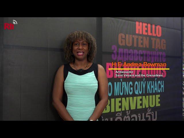 RTI interviews SVG Ambassador Andrea Bowman【央廣英語】