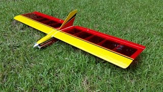 Little Plank Rc Glider Build And First Flight