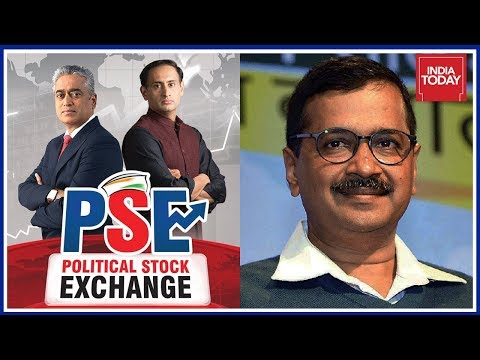Delhi Satisfied With AAP Govt; Kejriwal Most Favoured As Next CM   Political Stock Exchange