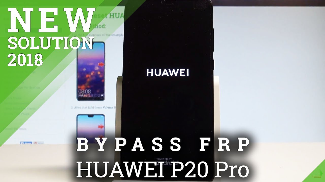 How to Unlock FRP in HUAWEI P20 Pro - Bypass Google Account Verification  |HardReset info