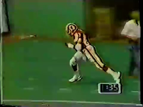 2- Joe Theismann 8yd pass to Charlie Brown