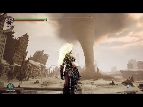 Darksiders 3 - The Lowlands - Block Puzzle Under the Tornado- Walkthrough Part 24