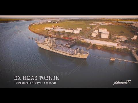 EX HMAS TOBRUK - Bundaberg Port, Burnett Heads, Queensland
