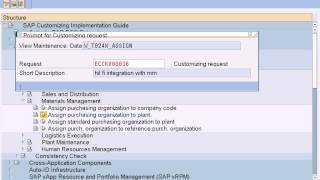 sap fi integration with mm | assign pur org to plant | define material group