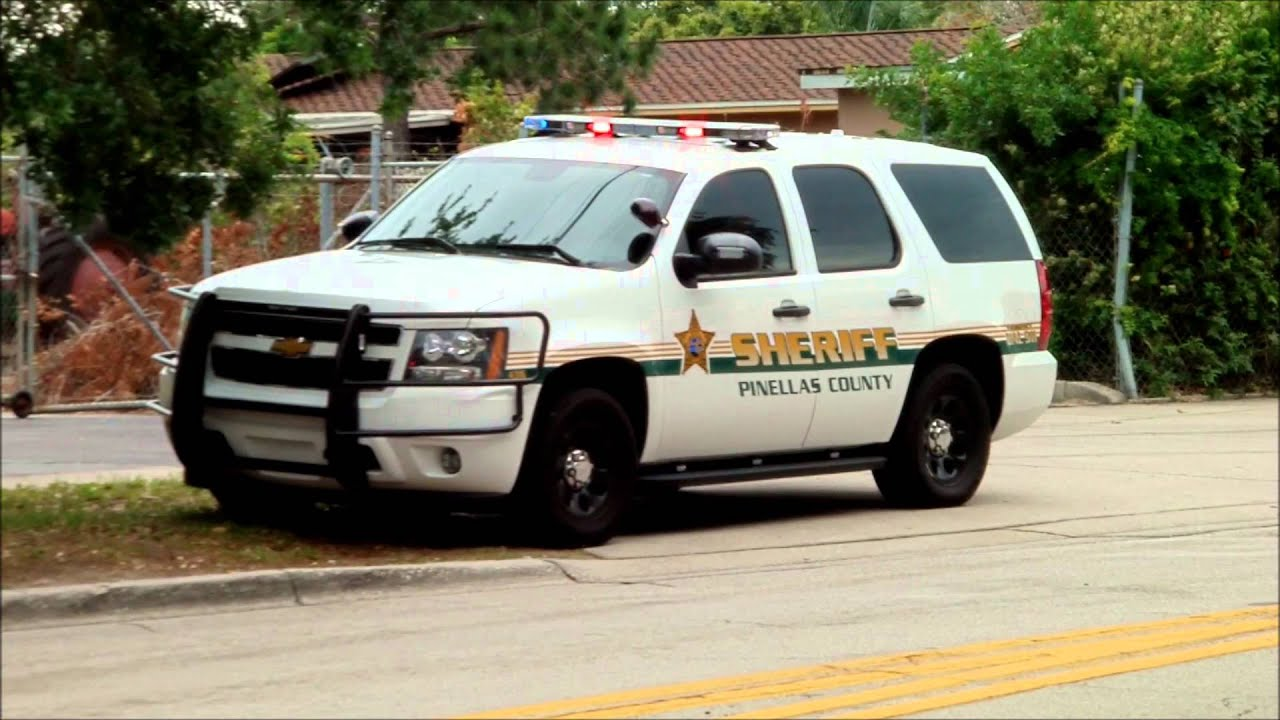 Pinellas County Sheriff Chevrolet Tahoe Youtube