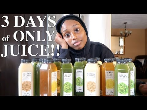 I TRIED A JUICE CLEANSE FOR THREE DAYS AND... *SURPRISING RESULTS* | Aysha Abdul