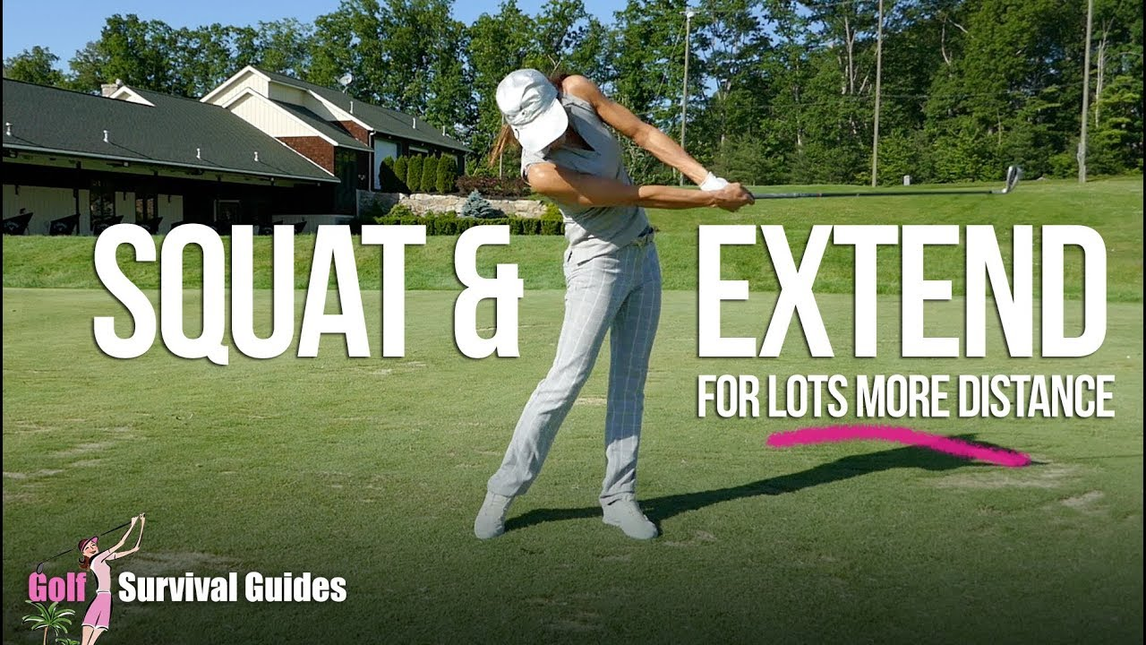 How to Squat and Extend Your Swing For More Distance