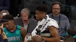Charlotte Hornets vs Milwaukee Bucks | January 24, 2020