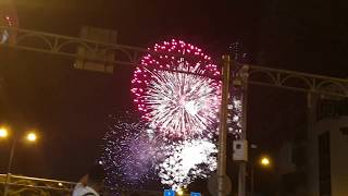 Bắn pháo hoa Tết Dương Lịch 2019 HCM city Happy New Year 2019