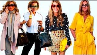 СЕКРЕТЫ ИТАЛЬЯНСКОЙ СЕНЬОРЫ 40 50 60 Как одеваются в Италии Трюки в одежде Итальянский стиль
