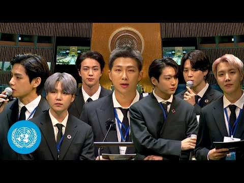 President Moon Jae-in & BTS at the Sustainable Development Goals Moment | United Nations (English)
