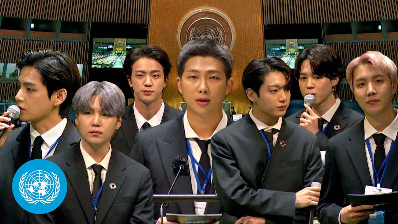 Download President Moon Jae-in & BTS at the Sustainable Development Goals Moment | United Nations (English)