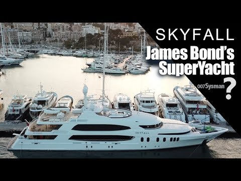 Skyfall: James Bond's SuperYacht? 4K!