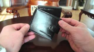 Coti Collection Money Clip Wallet. Model: Kent