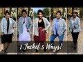 1 JACKET 5 WAYS - GLEN PLAID - PLUS SIZE STYLE | RHONDA PETERSON