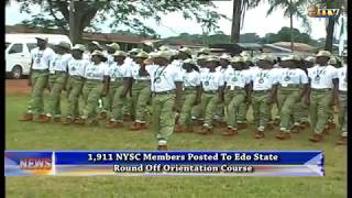 NYSC members posted to Edo State round off Orientation Course