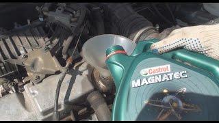 видео ВАЗ 2112 КАКОЕ МАСЛО ЗАЛИВАТЬ В ДВИГАТЕЛЬ... Тюнинг и ремонт двигателя 21124 масло