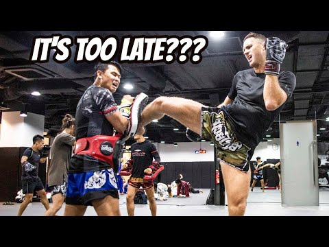 Why start training Muay Thai if you are over 30 Years Old!