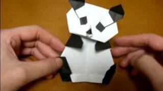 origami panda (body)