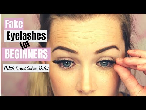 FAKE LASHES FOR BEGINNERS