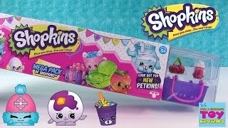 Shopkins Season 4 MEGA 20 Pack Unboxing #3   Petkins Ultra Rare   PSToyReviews