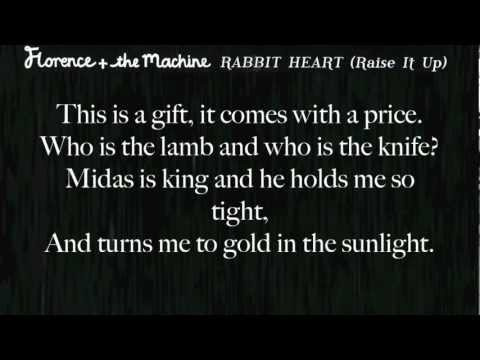 Florence + The Machine - Rabbit Heart (Raise It Up) Lyrics