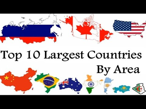 Top 10 Largest Countries In The World By Area