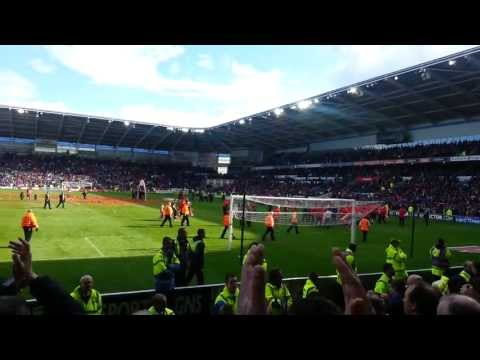 Cardiff City FC Championship Celebrations! 27/04/2013