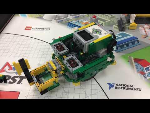 FLL Hydrodynamics Robot Reveal 12891 Electric Mayhem!