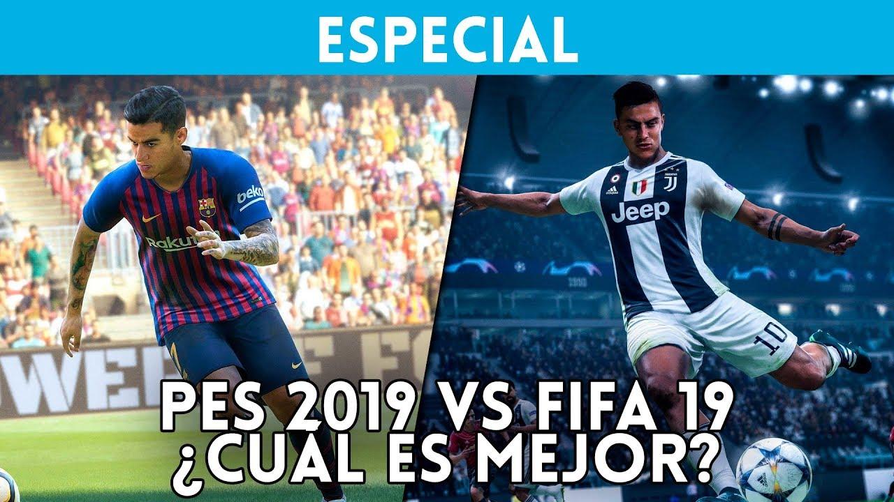 Fifa 19 Vs Pes 2019 Cual Es El Mejor Comparativa Con Gameplay