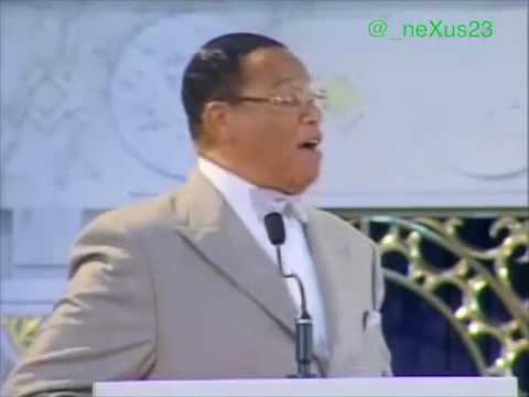 Louis Farrakhan - The Adam in The Bible is The Creation of White People