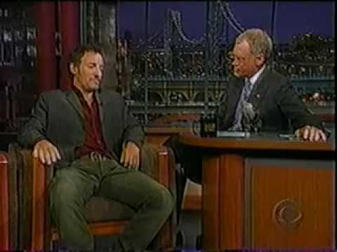 Springsteen at Letterman 2002