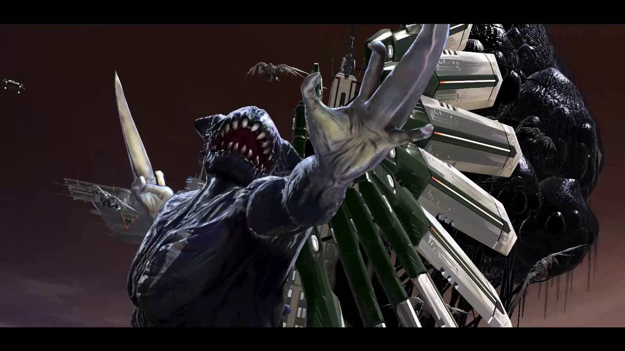 Spider Man Web of Shadows Symbiote Vulture boss fight ...