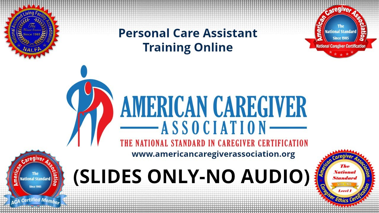 Personal care assistant training online youtube xflitez Images