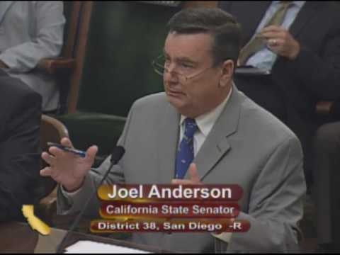 Senator Anderson Presents SB 156 to the Assenbly Committee on Veterans Affairs