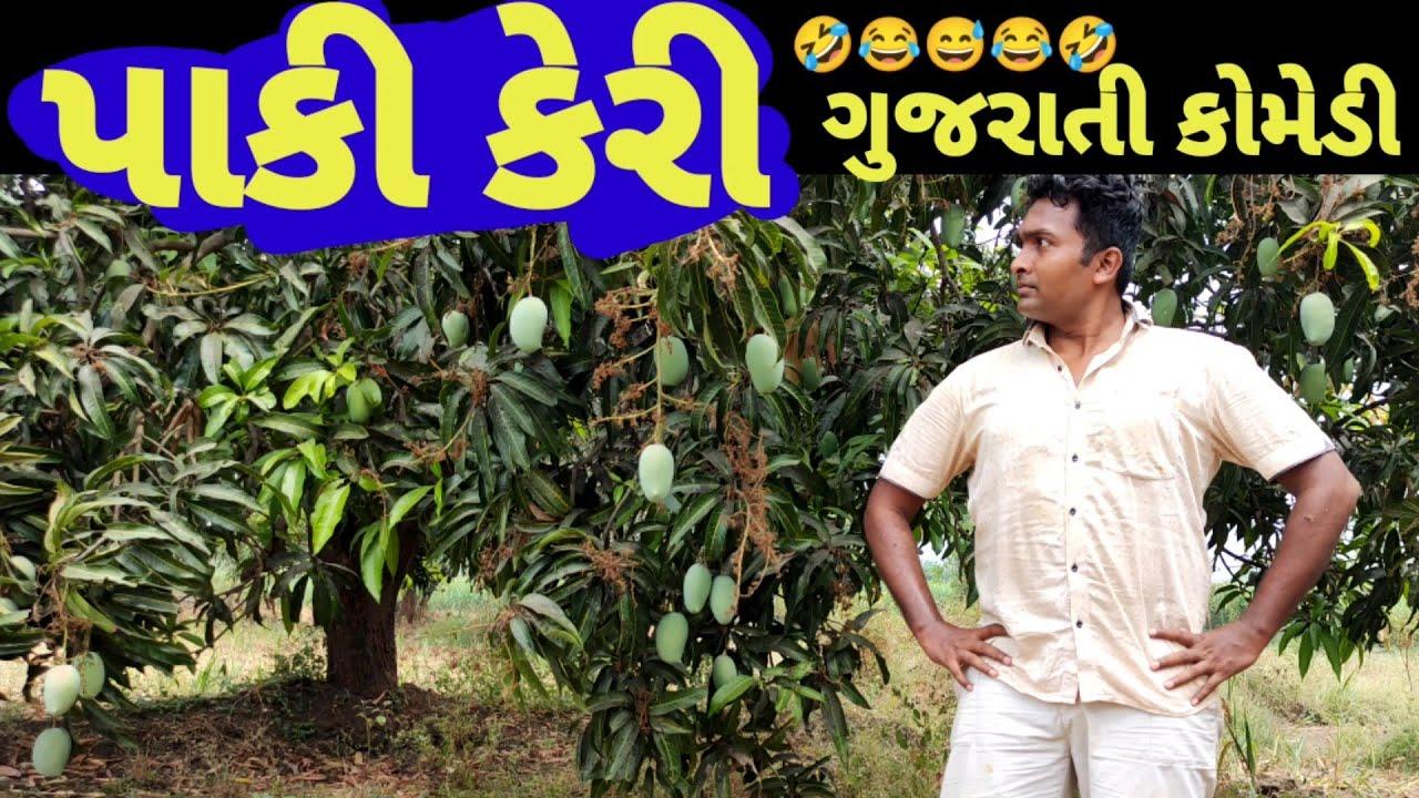 પાકી કેરી કોમેડી વિડિઓ, Paki keri Gujarati comedy Actor hitu  Funny gujarati 2021 