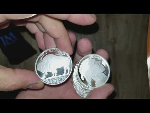 10 oz Silver at SPOT - JM Bullion