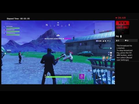 Fortnite live play n chat