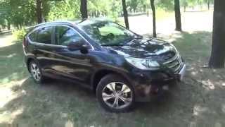 2014 Honda CR V 2 4 AWD Обзор, Тест драйв, Краш тест YouTube