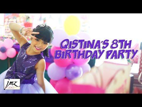 Nur Qistina Raisah's 8th Birthday Party
